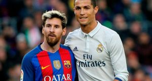 Messi-Ronaldo  Messi, Ronaldo shift rivalry to hotel business Messi Ronaldo