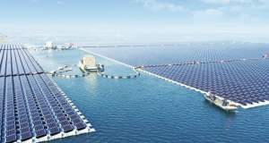 The floating solar power plant  China unveils largest floating solar plant floating solar power plant 640x0