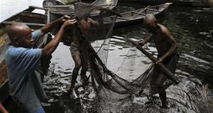 Fishermen Niger Delta  FishNet: Why fish is more valuable than oil Fishermen