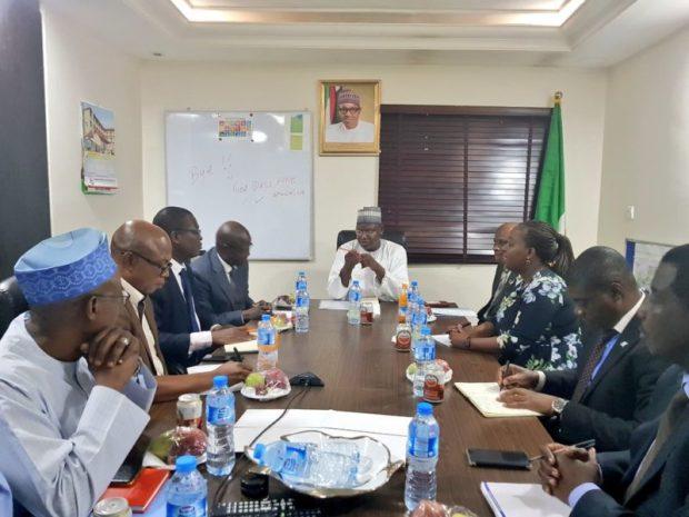 UNDP Nigeria  Images: Environment Ministry, UNDP explore areas of cooperation UNDP3 e1499029973269