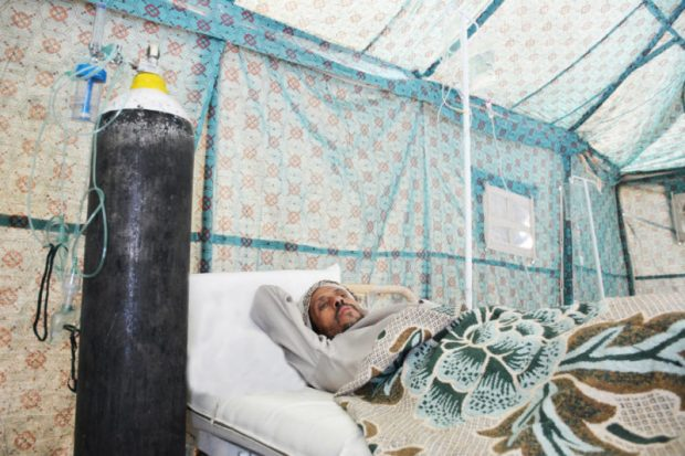 Yemen cholera  Images: How Yemen struggles against cholera Yemen5 e1501189898347