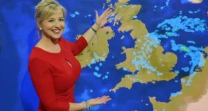 weather presenters-Carol Kirkwood  How summers will become hotter, by weather presenters weather presenters