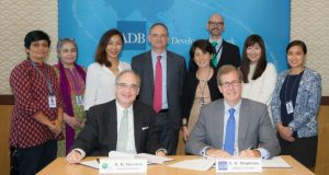 Christopher Stephens  GCF enhances Asian coverage by bolstering ties with ADB ADB e1503032891491