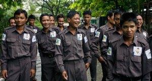 WWF elephant rangers