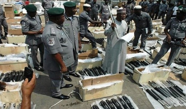 Illicit arms importation  Government begins trial of suspected pirates Illicit arms importation