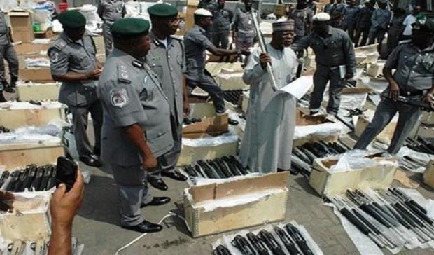 Illicit arms importation