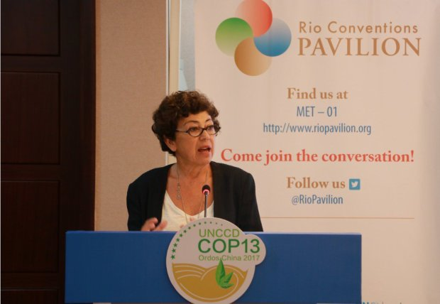 UNCCD COP13 - Monique Barbut  Reviving dying land is doable by 2030, says UN review UNCCD 1024x707