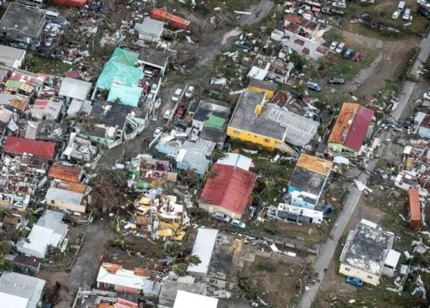 Hurricane Irma  Damage from natural disasters almost doubled in 2017 compared to 2016 irma st martin e1504892219897