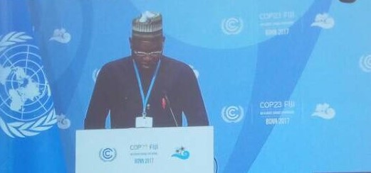Nigeria COP23  How we're implementing climate contributions, by Nigeria Statement