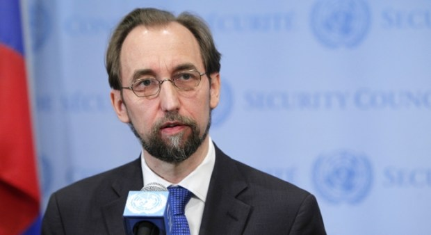 Prince Zeid Ra'ad Al Hussein  Benue killings: UN rights chief urged to speak out, hold special session Prince Zeid Ra   ad Al Hussein