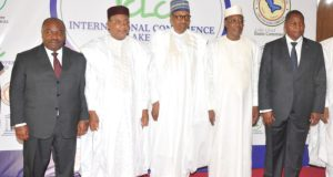 Buhari  Political commitment needed to revive Lake Chad Basin – Buhari Buhari e1519838314701