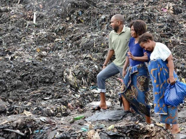 Mozambique garbage
