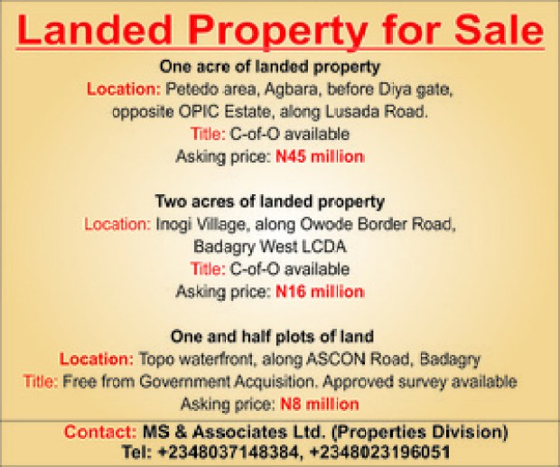 advertisement Land for sale3
