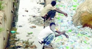 Open defecation in Lagos  Radio Report: 'Clean Nigeria' and curbing open defecation Open defecation in Lagos