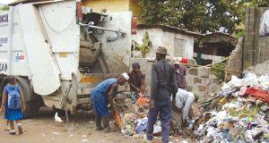 waste managers  World Habitat Day: Effectively managing community waste Waste managers e1522277028528