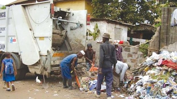 waste managers  Lagos residents urged to adhere to environmental laws Waste managers e1522277028528