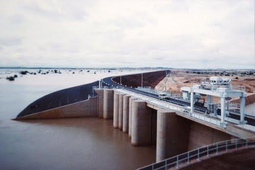 Goronyo Dam  Shrinking Goronyo Dam water attributed to climate change Goronyo Dam