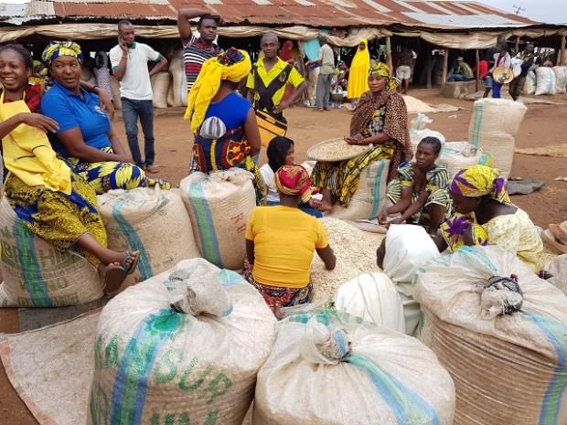 Lafia melon traders
