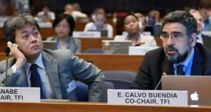 Kiyoto Tanabe and Eduardo Calvo Buendia