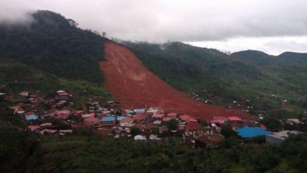 Sierra Leone landslide