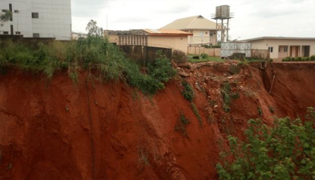 Erosion Awka  NEWMAP, Anambra move to rescue erosion-threatened court premises Erosion Awka