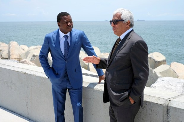 Faure Essozimna Gnassingbe and Ronald Chagoury  How Eko Atlantic City protects Lagos shoreline, by Chagoury, Gnassingbe FX188374