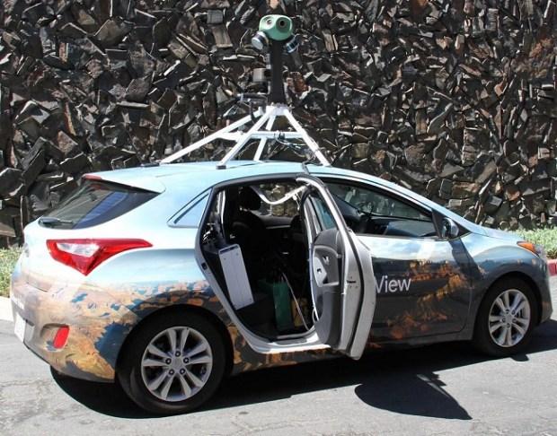 Google Maps Street View car