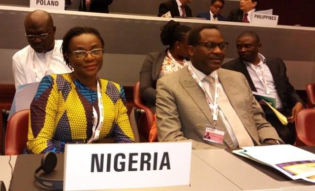 Nigerian delegation at COP8