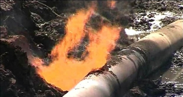 pipeline explosion  ERA attributes incessant pipeline disasters to nation's fossil-fuels dependence pipeline explosion