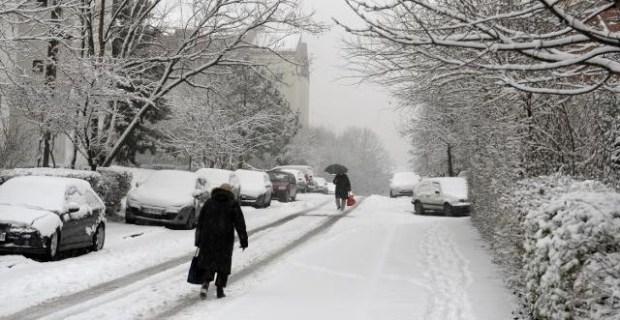 Serbia winter