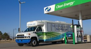 Compressed natural gas fuel station