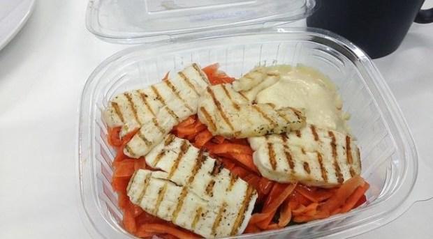 Food in plastic