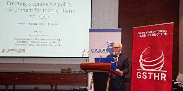 Professor Gerry Stimson  Global State of Tobacco Harm Reduction Report launched in Kenya Gerry
