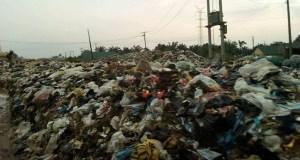 Refuse dumpsite in Aba