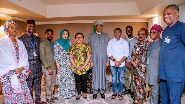 Buhari - Youths  Why Nigeria faces severe climate problems – Buhari IMG 20190927 225516