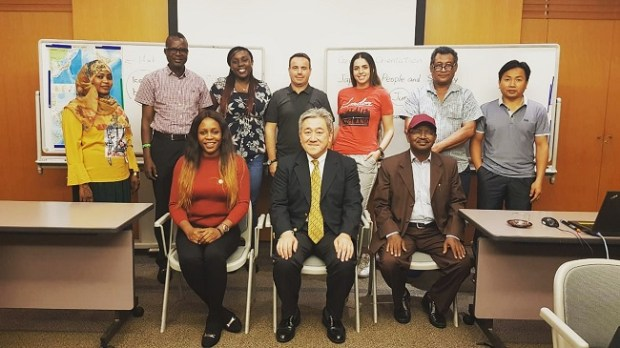JICA solid waste management training  Two Nigerians explore waste management dynamics at JICA training IMG 20191025 204008 948