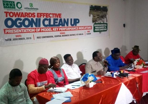 Ogoni Clean-up ERA/FoEN  National Assembly urged to intervene in Ogoni clean-up process IMG 20191114 111148