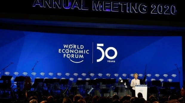 WEF 2020  Davos: Civil society urges leaders to shift investments from fossil fuels into renewables WEF 2020