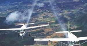 Rainmaking planes