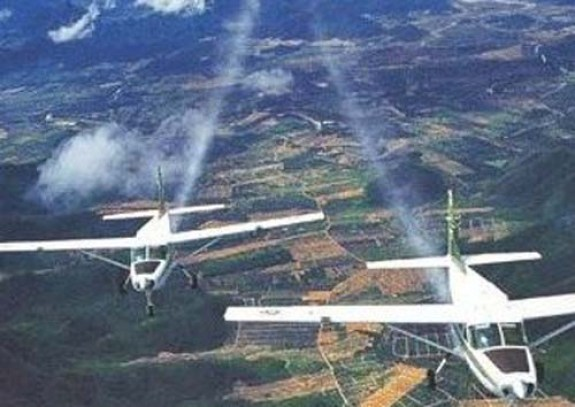 Rainmaking planes  Thailand adopts artificial rainmaking to fight drought information other 20170112 215307 0