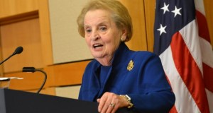Madeleine K. Albright  23 ex-ministers call on world leaders to protect biodiversity Madeleine K
