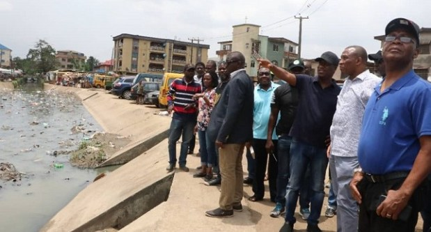 Lagos inspection  Lagos residents urged to desist from dumping refuse in drainages Lagos