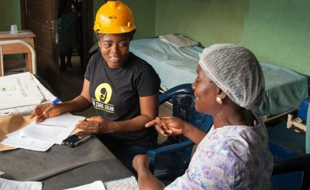 Female solar installers  Women's Day: Female installers ensuring safe delivery with solar power mail 6