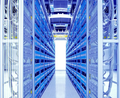 The cloud is pushing data centers toward energy efficiency.