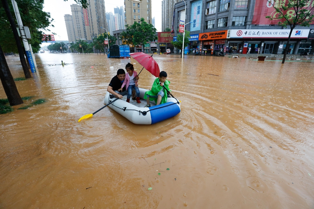 The United States has enough problems of its own when it comes to climate change, but it seems that flooding in China could have an impact on the U.S economy.