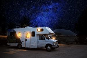 motorized rv trailer