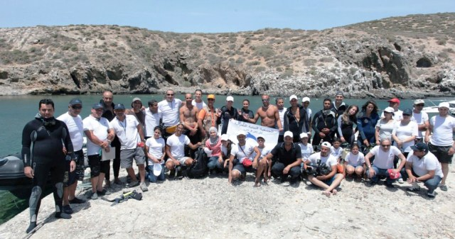 Nettoyage de l'île Plane - Celebrate Islands