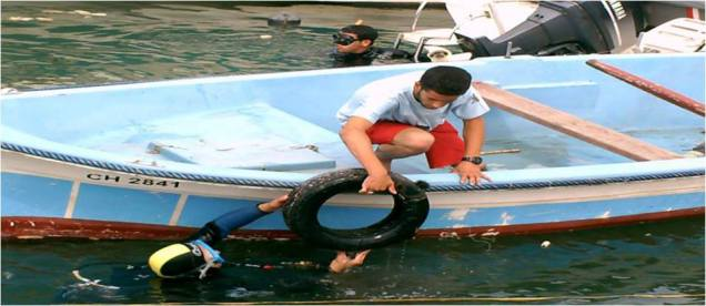 Nettoyage des fonds marins (2)