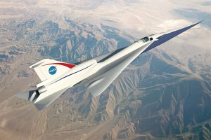 Proving the public acceptance of reduced sonic booms remains key to enabling economic supersonic air travel. Credit: NASA