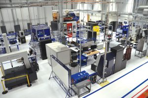 Rolls-Royce's CMC research center in California will pave the way for mass production of high-temperature materials. Credit: Rolls-Royce
